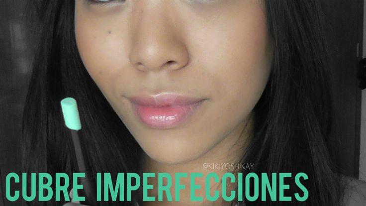 Corrector VERDE!  Si quieren una piel perfecta vean el tutorial y aprendan cómo cubrir granitos y manchas!