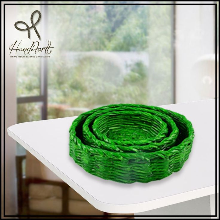 #Wednesday: Its season of #indianwedding, best way to #gift in these #Green / other color baskets from #Handikart_india #coloroftheday
