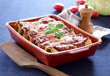 Frysemad: Cannelloni med spinat og salami   En skøn ret, der er særligt velegnet til frysning