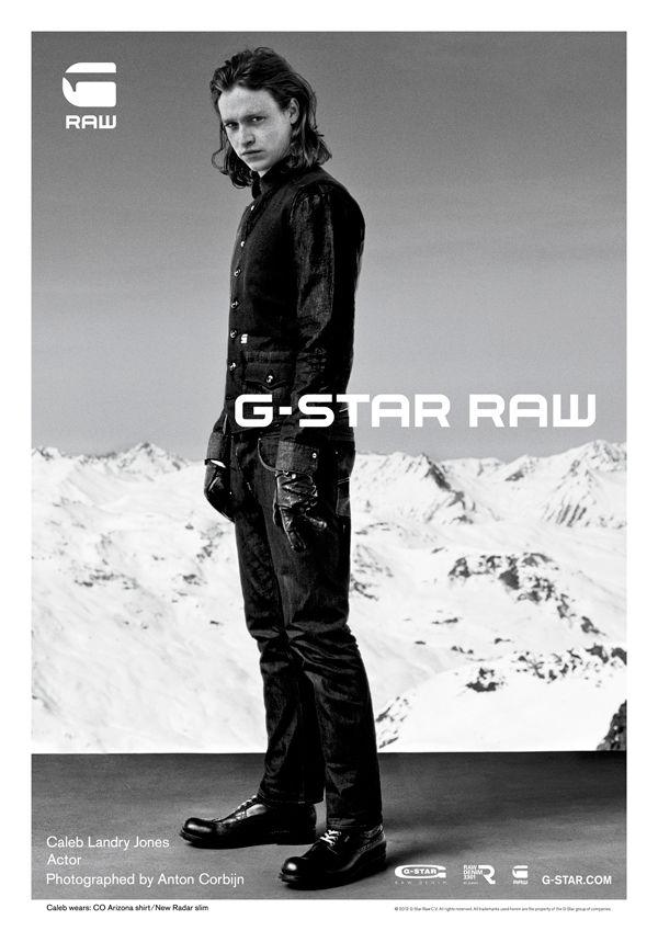 Anton Corbijn  G-Star Automne Hiver 2012 - Homme - Caleb Landry Jones