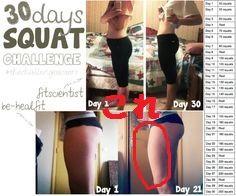 【大人女子の30日スクワットチャレンジ】スクワットはやり方を間違うと太ももが太くなる!太ももを細くしたい方におすすめのスクワットをご紹介。30日スクワットで美尻・クビレ・足痩せに成功するコツ。