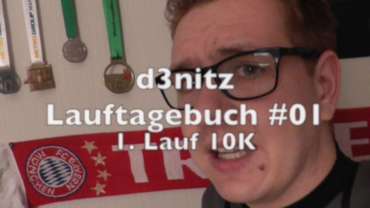 d3nitzs Lauftagebuch #01 10 km Lauf | #Rennsemmel