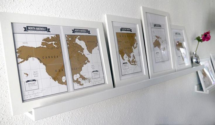 World scratchmaps from Travel & Scratch Travel journal   www.ikwilmeerreizen.nl/shop