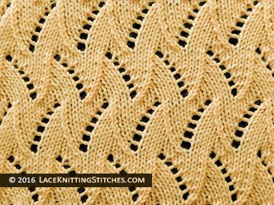 Knitting Reversible Lace Stitches : 176 best images about Lace Knitting Stitches on Pinterest Lace knitting pat...