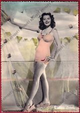 BARBARA BATES 01 ATTRICE - ACTRESS IN A BATHING SUIT - CINEMA MOVIE Cartolina