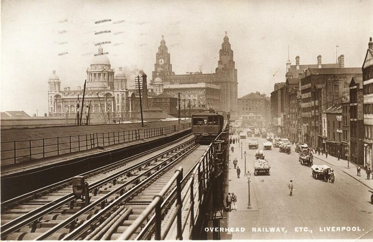 World's first electric overhead railway, Liverpool 1893...