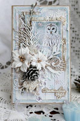"""Freetany Flowers: Итоги задания декабря """"Цветы для Снегурочки"""""""