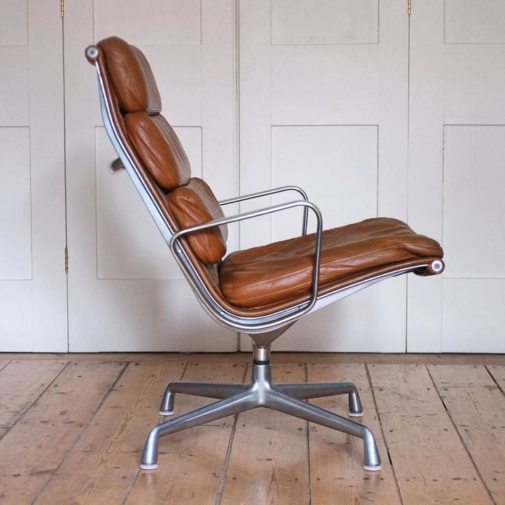 Eames Softpad lounge chair, 1969, Herman Miller.