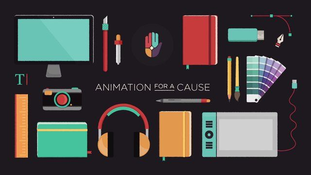 Animation For A Cause is a non-profit that promotes social causes through the use of motion graphics.