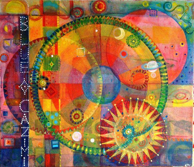 Blue Cazimi by Barbara W