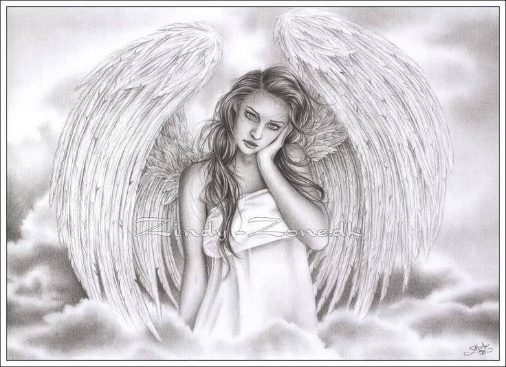 fantasy art angel sad - photo #42