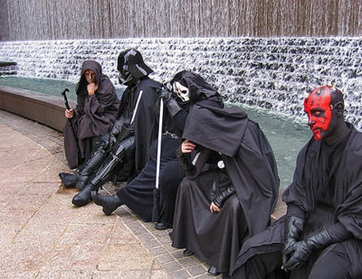 Even Sith Lords get the Blues