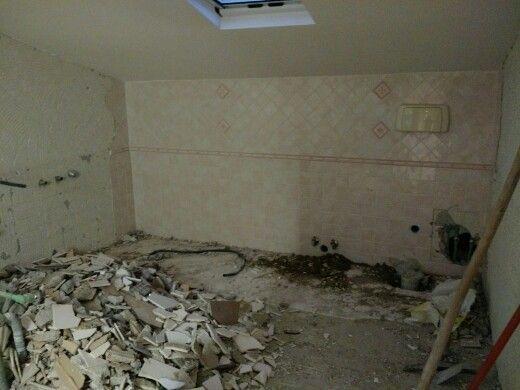 bagno (demolizioni)