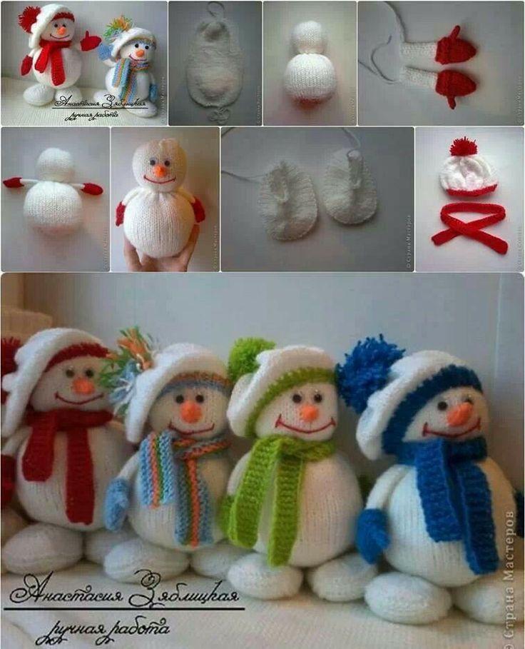 Sneeuwmannetjes