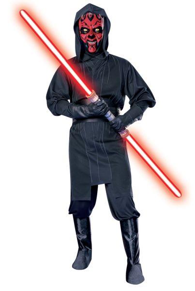 Darth Maul Kostüm mit Maske - für erwachsene SW-Fans