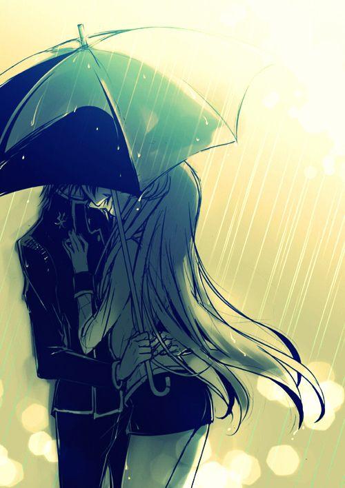 Bajo la lluvia, bajo la nieve, o bajo el sol, yo siempre estoy a tu lado... con la única recompensa de una pequeña y triste sonrisa...