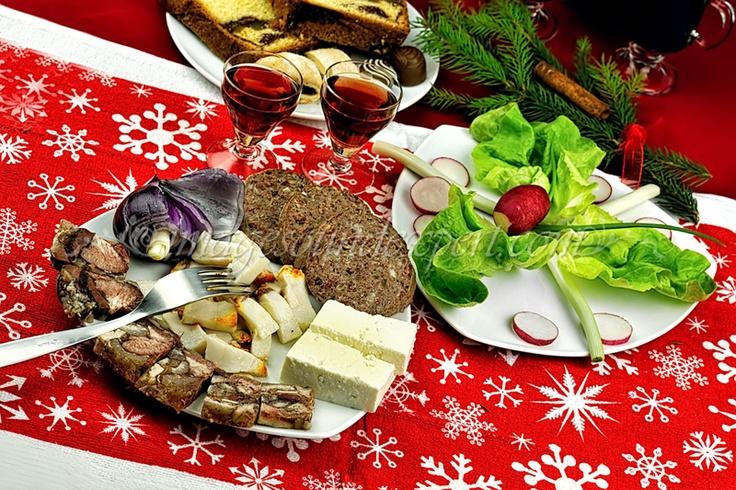 traditionelle rumänische Weihnachts-Essen
