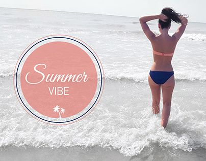 """Check out new work on my @Behance portfolio: """"Summer Vibe"""" http://be.net/gallery/33073297/Summer-Vibe"""