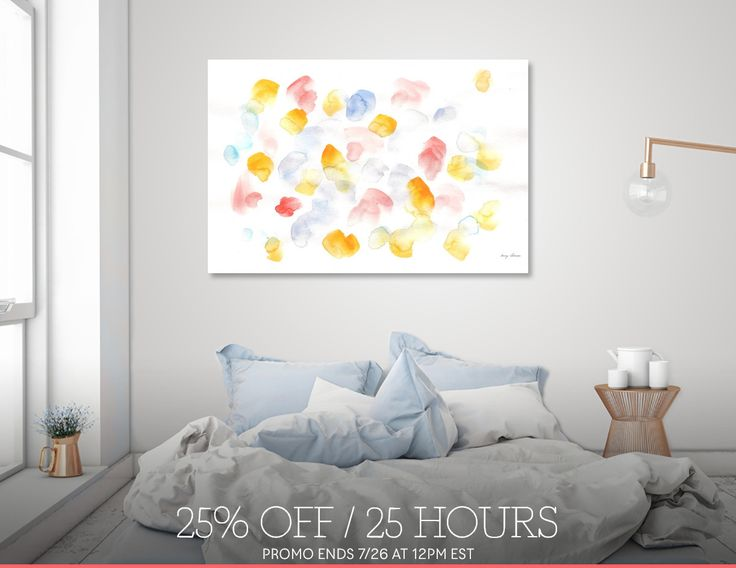 Discover «170725 Abstract Watercolour 10», Limited Edition Aluminum Print by valourine - From $99 - Curioos