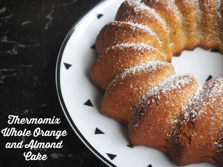 Thermomix Whole Orange and Almond Cake - Thermomix Whole Orange and Almond Cake - it's a whole lot of yum! http://www.theannoyedthyroid.com/2012/11/09/thermomix-whole-orange-and-almond-cake/