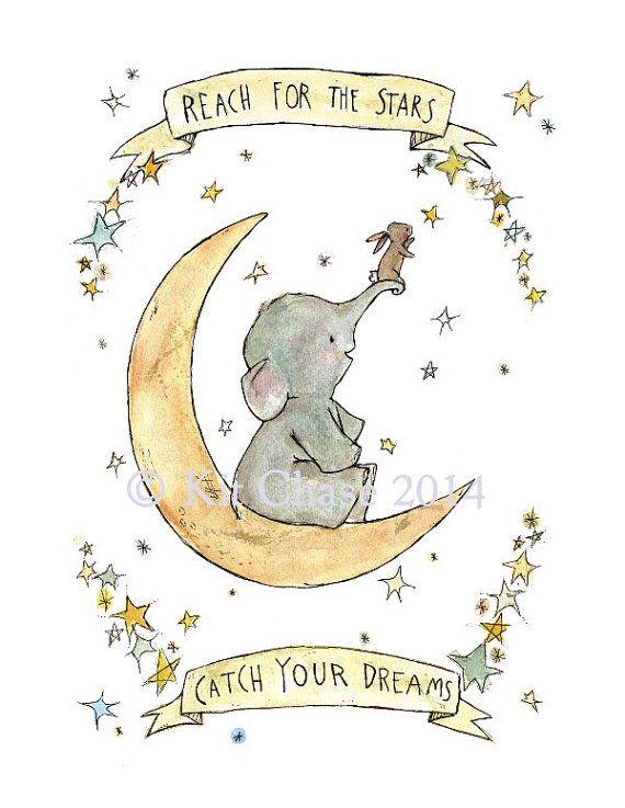 Fangen Sie Kinder Kunst - Ihre Träume - Archivierung Kunstdruck