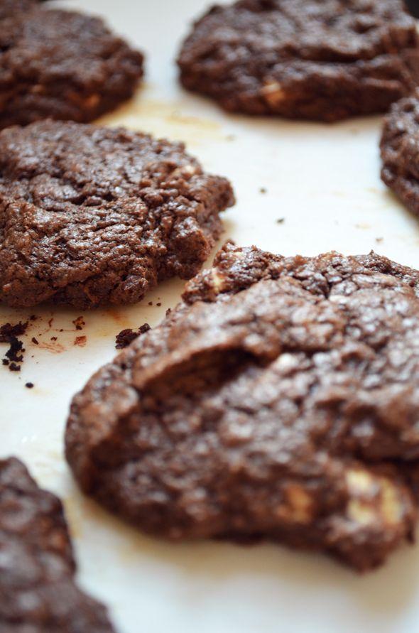 Cozinha Luisa! - Blog de receitas e dicas do dia-a-dia: Cookies de Chocolate Triplo da Nigella