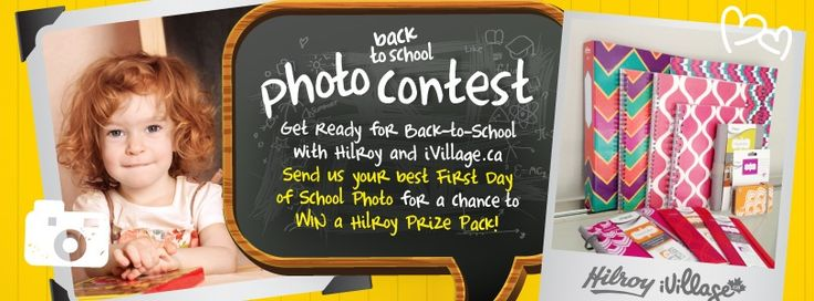 iVillage Canada is using SoCast's Facebook app to give you the chance to win a prize pack from Hilroy valued at $75 !