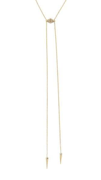 House of Harlow 1960 Sama Bolo Tie Necklace