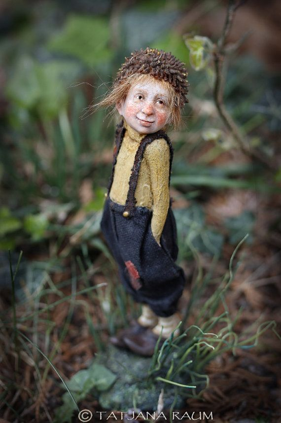 Pixie boy Rolfi OOAK made by Tatjana Raum by chopoli on Etsy, $540.00