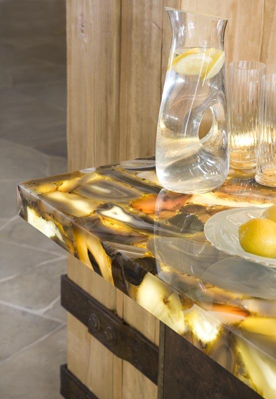 Unique countertop black mesa ranch su casa ideas pinterest - Unique countertops ...