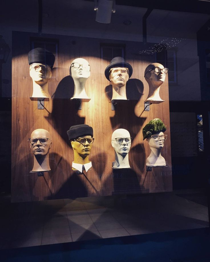 Heads for display
