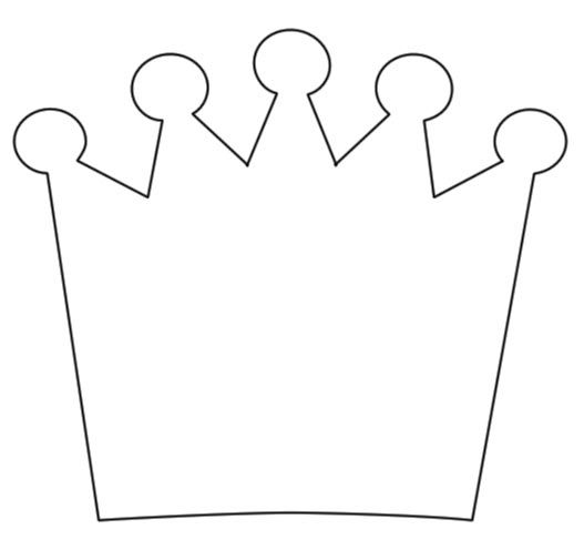 25+ unique Crown outline ideas on Pinterest Crown template - crown template