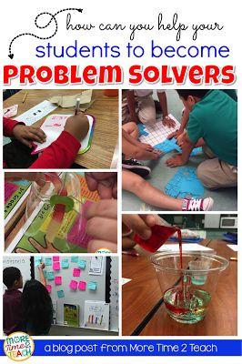 Have you noticed that your students are struggling to solve problems on their own? Read about how I use the Problem Solving Approach in my classroom so that students learn to resolve issues on their own.