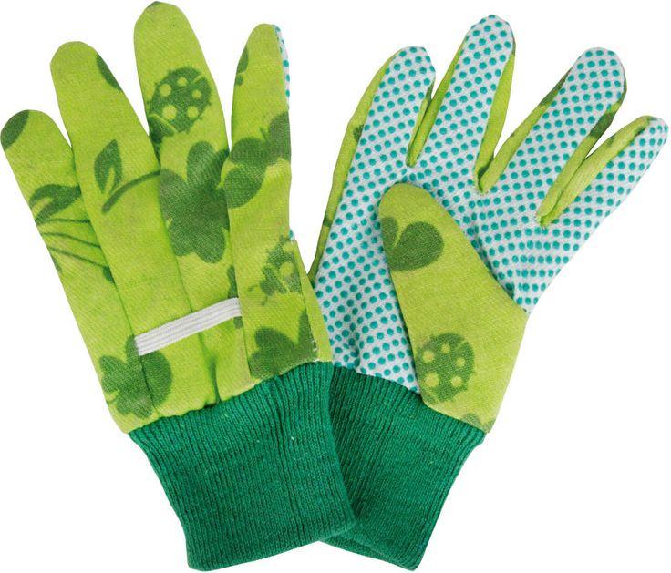 Gants de jardinage pour enfant en Coton et Polyester. Jardiner, c'est mettre les mains dans la terre alors on y va de bon cœur ! Cette paire de gant enfant jardin est idéale pour remuer la terre sans se salir.