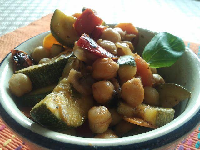 Grão de Bico com Legumes (sem glúten)