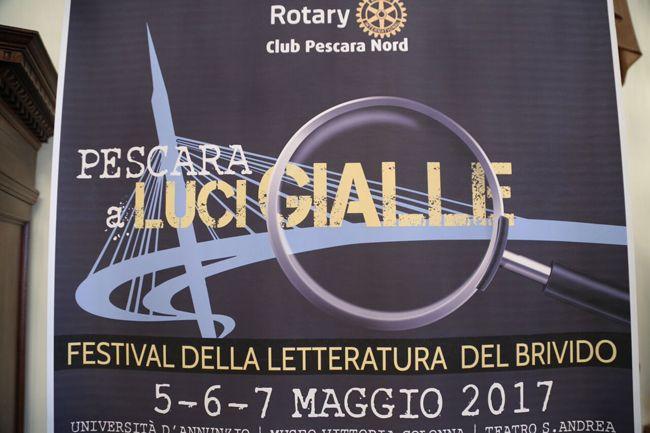 Pescara a luci gialle  Festival della letteratura del brivido