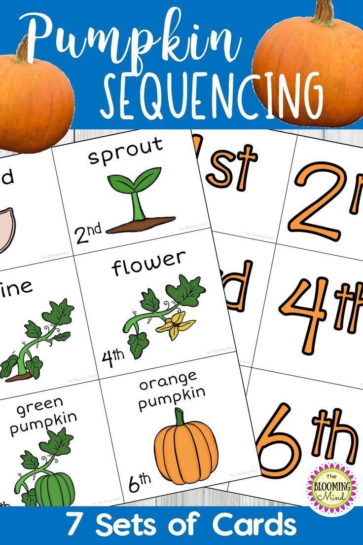 Learn About The Pumpkin Life Cycle With This Sequencing Activity Your Students Will Sequencing Activities Sequencing Activities Preschool Pumpkin Life Cycle [ 1104 x 736 Pixel ]