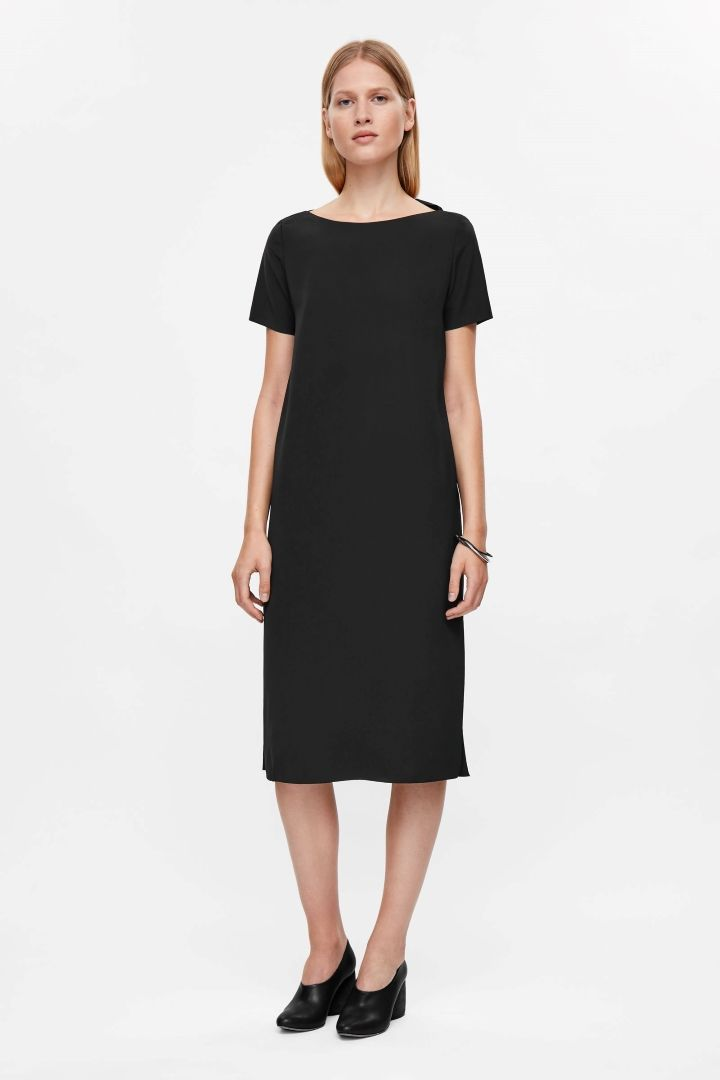 COS | Straight dress with back detail