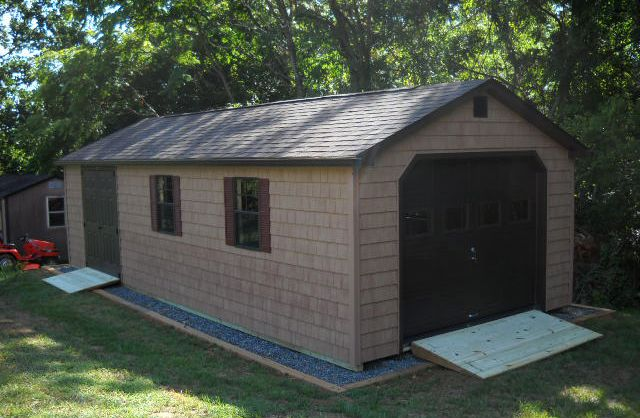 20 best garage ideas images on pinterest exterior homes for Modular 3 car garage