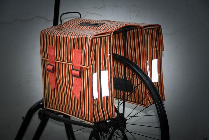 Alforja estampada para bici