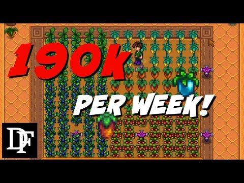 Ultimate Greenhouse Guide! - Stardew Valley Gameplay HD