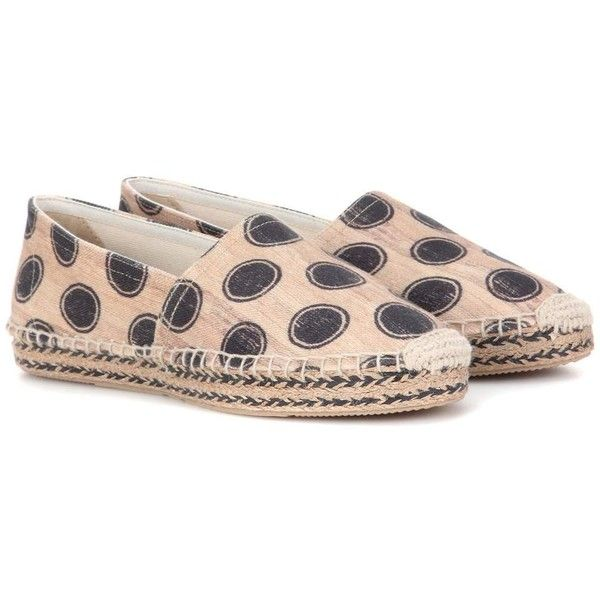 Isabel Marant Étoile Canaee Printed Espadrilles (1.407.210 IDR) ❤ liked on Polyvore featuring shoes, sandals, beige, espadrille sandals, beige espadrilles, beige sandals, isabel marant espadrilles and beige shoes