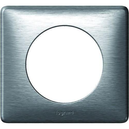 Legrand Céliane LEG99865 Plaque 1 poste Aluminium: Price:12.59Plaque de finition 1 poste – Gamme Céliane de Legrand – Gris anodisé…
