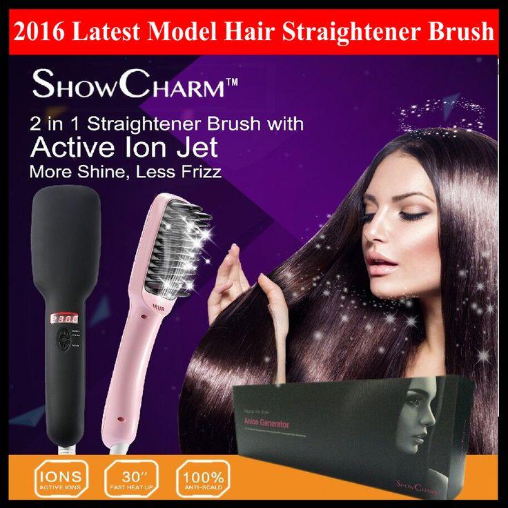 http://www.hyjtrading.com/wp-content/uploads/2016/03/SC-810-main.jpg ShowCharm 2 in 1 Professional Ceramic Hair Straightener Brush - Built-in Ionic Generator - LCD Display - Automatic Hair Straightening Comb - #CeramicStraightenerBrush, #HairStraighteningComb, #IonicStraightenerBrush, #ShowCharmIonicStraightenerBrush - http://www.hyjtrading.com/product/showcharm-2-in-1-professional-ceramic-hair-straightener-brush-built-in-ionic-generator-lcd-display-automatic-hair-straighteni