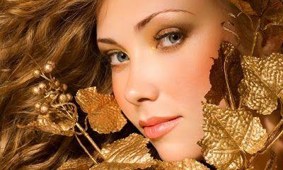 #Maquillaje #dorado para #Navidad | Guapa Al Instante Blog de belleza http://www.guapaalinstante.com