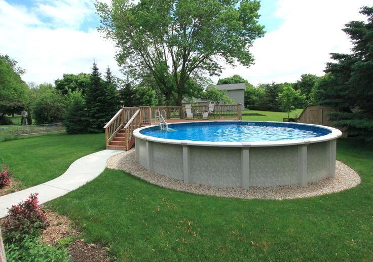 Image Result For Above Ground Pool Landscaping Ideas Free Above