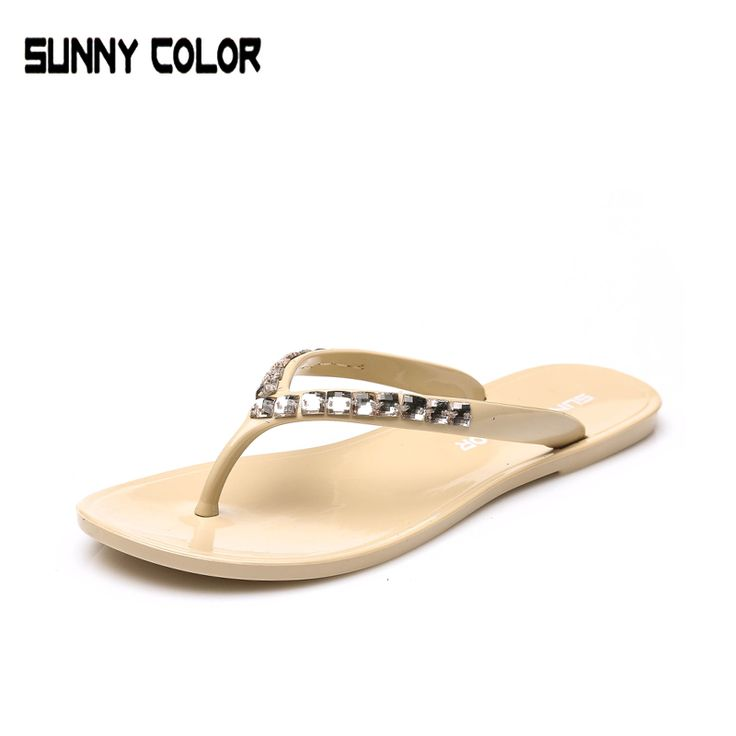 >> Click to Buy << Women's Jelly Sandals 2017 Summer Beach Flip Flops Lady Slippers Women Shoes Summer Sandals for Women Flat Casual shoes #Affiliate
