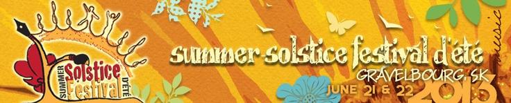 Summer Solstice Festival d'été |  rural Saskatchewan's largest and most diverse open-air musical event! | Music Line-up https://www.youtube.com/watch?v=7WTN0S7Fs7c