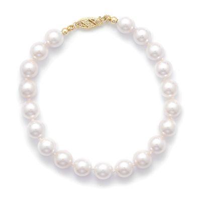 7-7.5mm  AAA  Akoya Pearl Bracelet