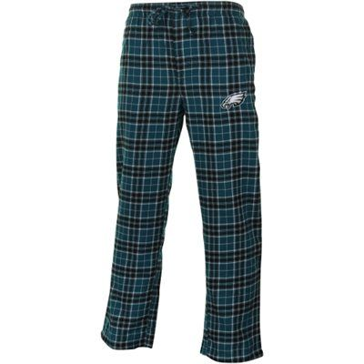 Philadelphia Eagles Roster Flannel Pants - Midnight Green